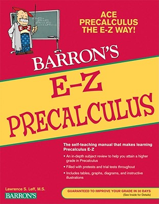 Barron's E-Z Precalculus By Leff, Lawrence S.